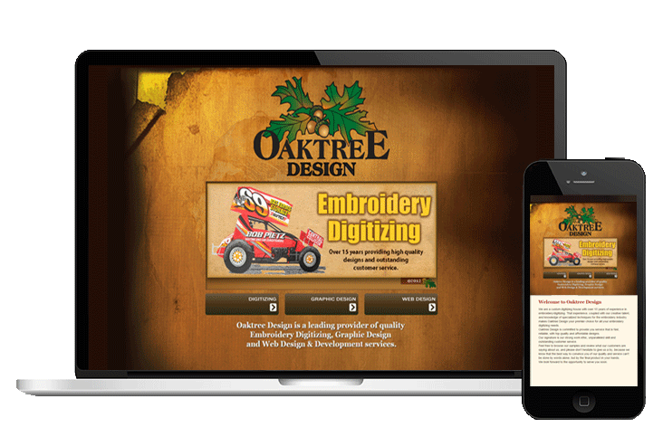 Oaktree Design Website Development Services in Newmarket